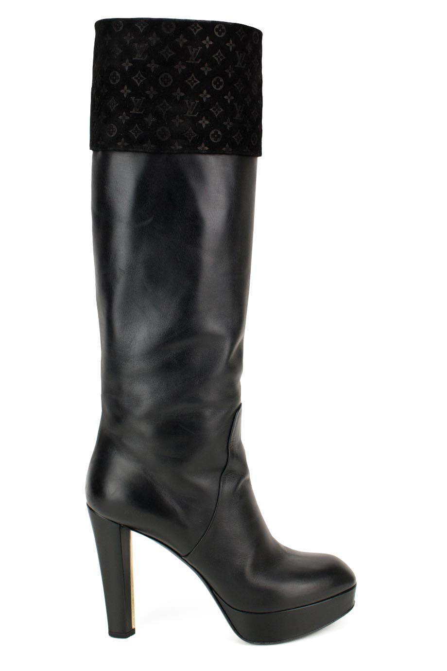 78d84f2b46a Louis Vuitton. Knee High Boot